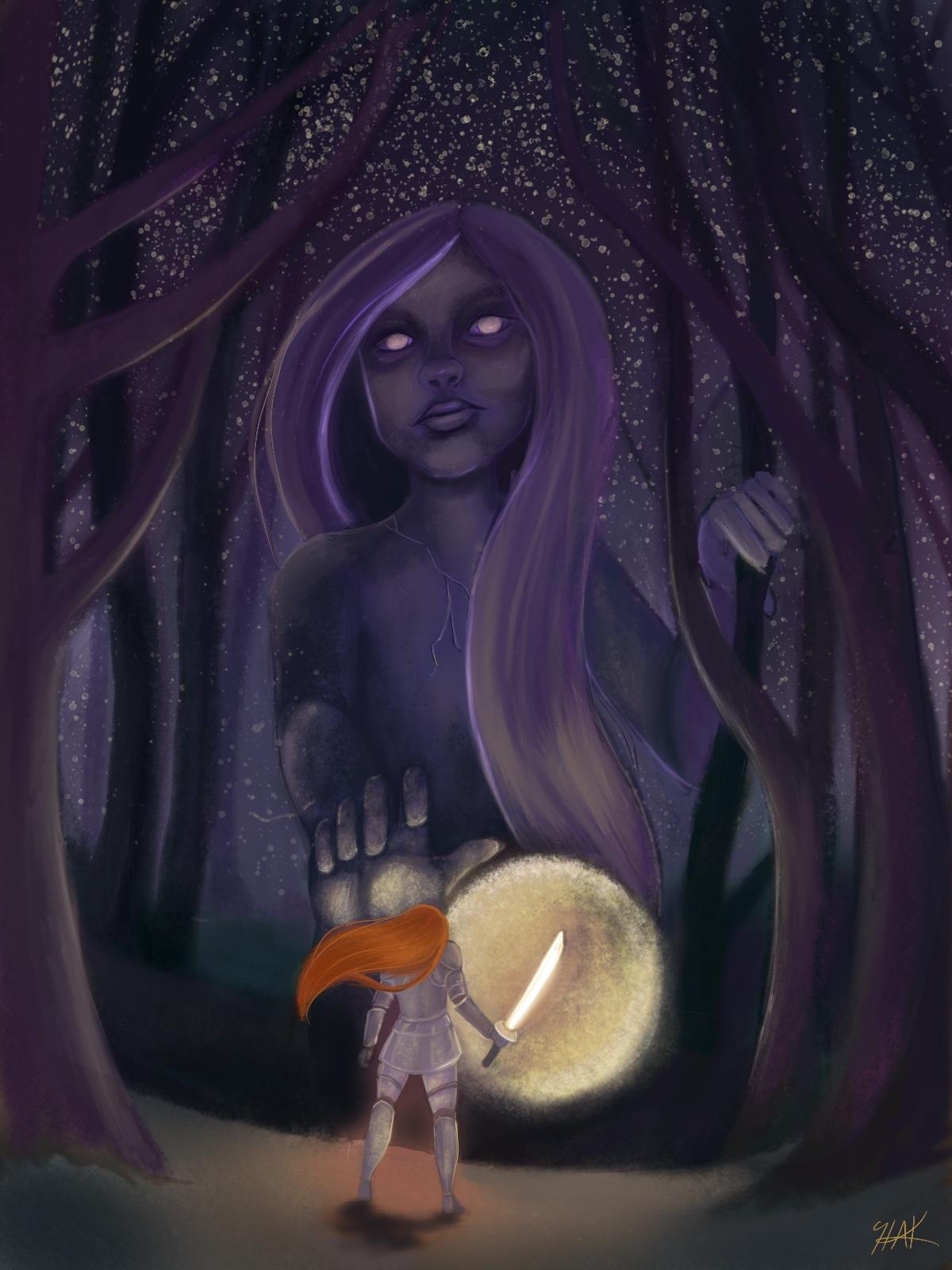 """Battle of the Mind"" by Haylei Kvist"